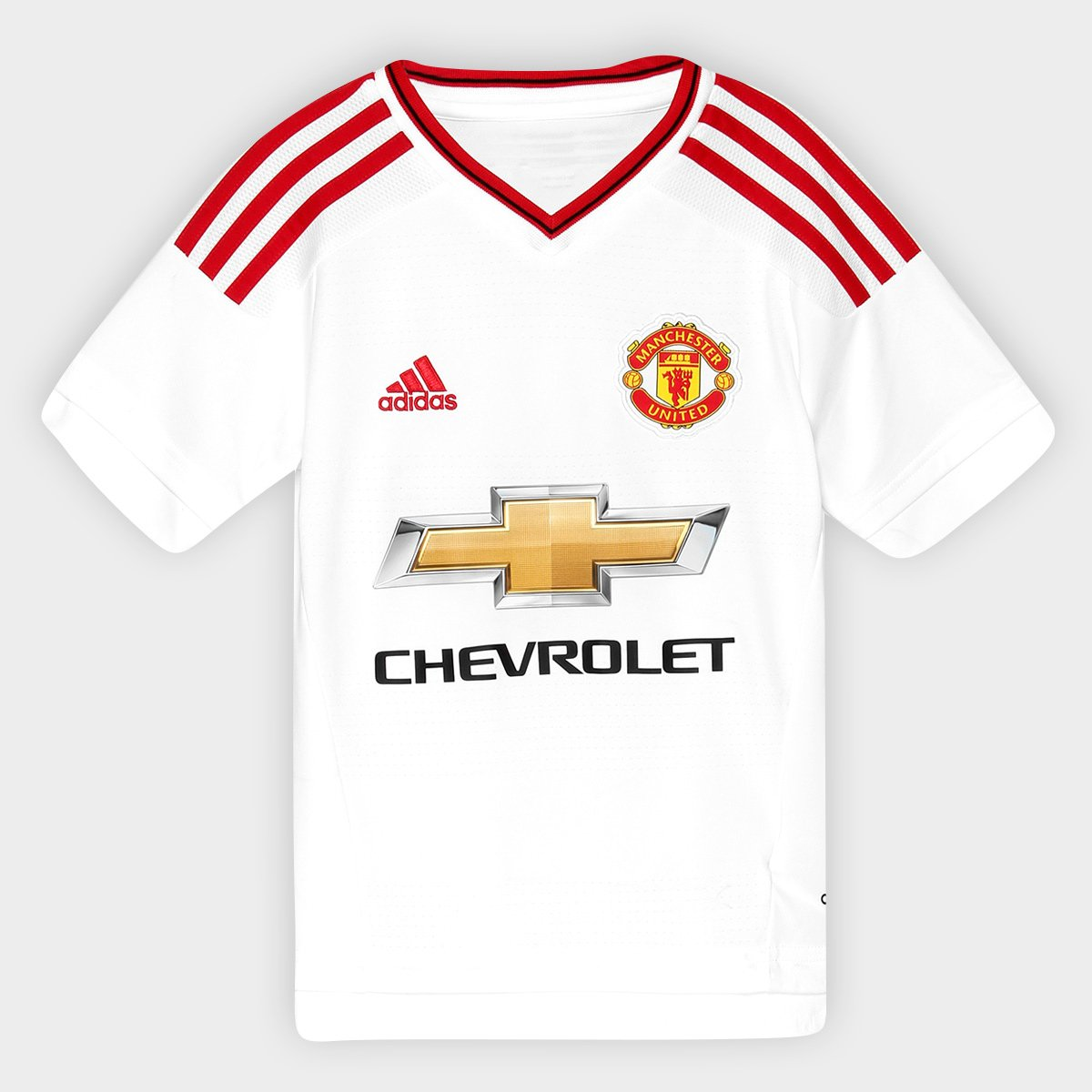 1511e915aa Camisa Manchester United Infantil Away 15/16 s/nº - Torcedor Adidas    Zattini