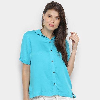 Camisa Manga Curta Ellus Feminina