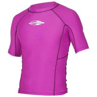 Camisa Manga Curta Uv Gromm Lycra® 0.5Mm Feminina