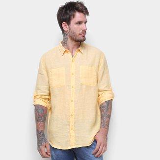 Camisa Manga Longa Hering Básica Masculina
