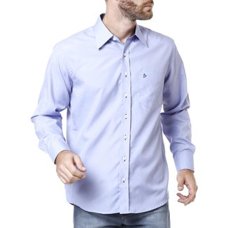 Camisa Manga Longa Masculina Lilás