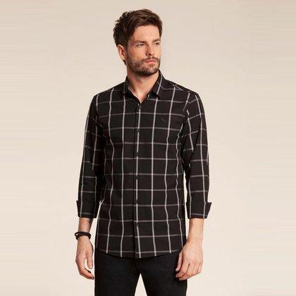 Camisa Manga Longa  Masculina