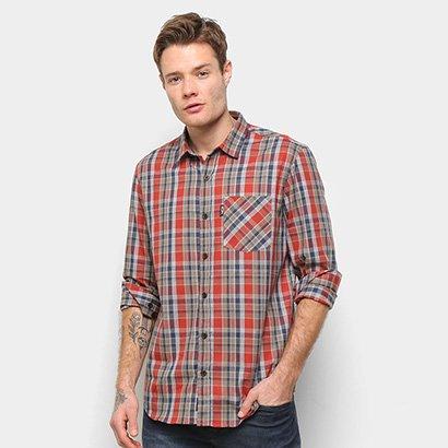 Camisa Manga Longa MCD Xadrez Plaid Masculina - Masculino