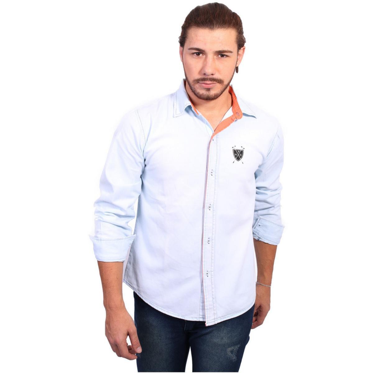 ... Camisa Manga Longa Polo Crystal Masculina - Compre Agora Zattini  4171b170338acf ... 45ff824bad