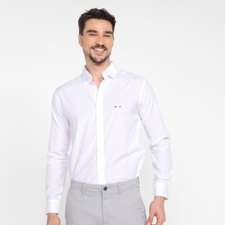 Camisa Manga Longa Slim Milano Masculina