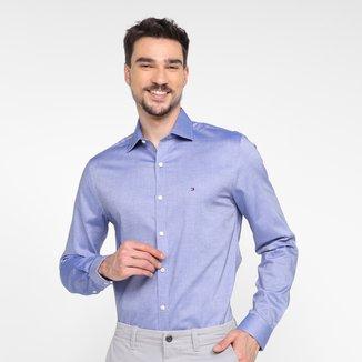 Camisa Manga Longa Tommy Hilfiger Masculina