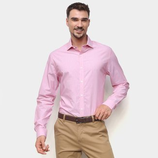 Camisa Manga Longa Tommy Hilfiger Slim Masculina