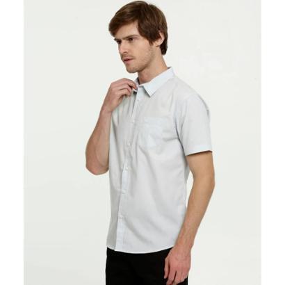 Camisa Masculina Bolso Manga Curta MR