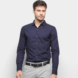 Camisa Milano Manga Longa Masculina