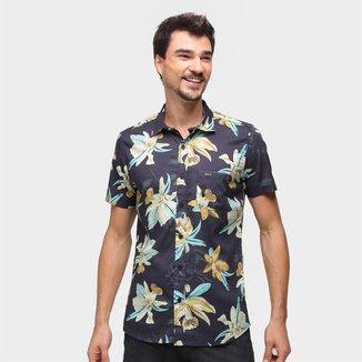 Camisa Natural Art Hawaii Masculina