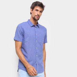 Camisa Osklen Texture Color Masculina