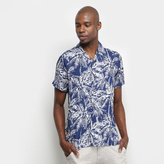 Camisa Pacific Blue Coqueiro Masculina