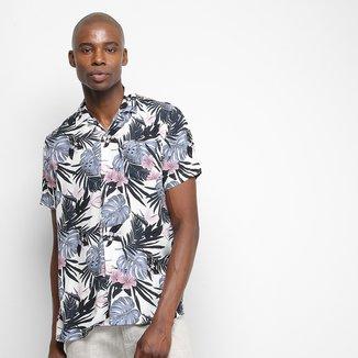 Camisa Pacific Blue Jungle Masculina