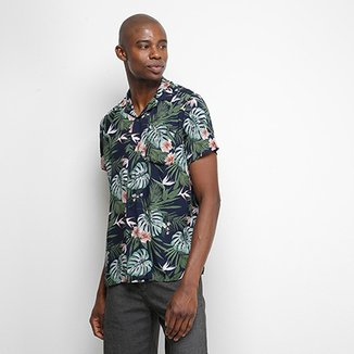 Camisa Pacific Blue Jungle Masculina