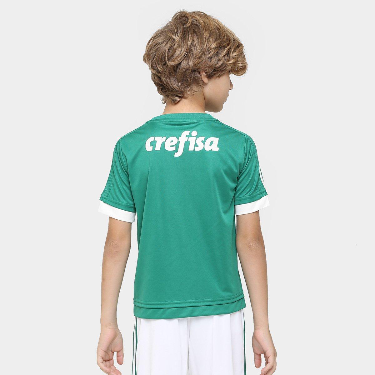 5527adf21a Camisa Palmeiras Infantil I 15 16 s nº Torcedor Adidas - Compre ...