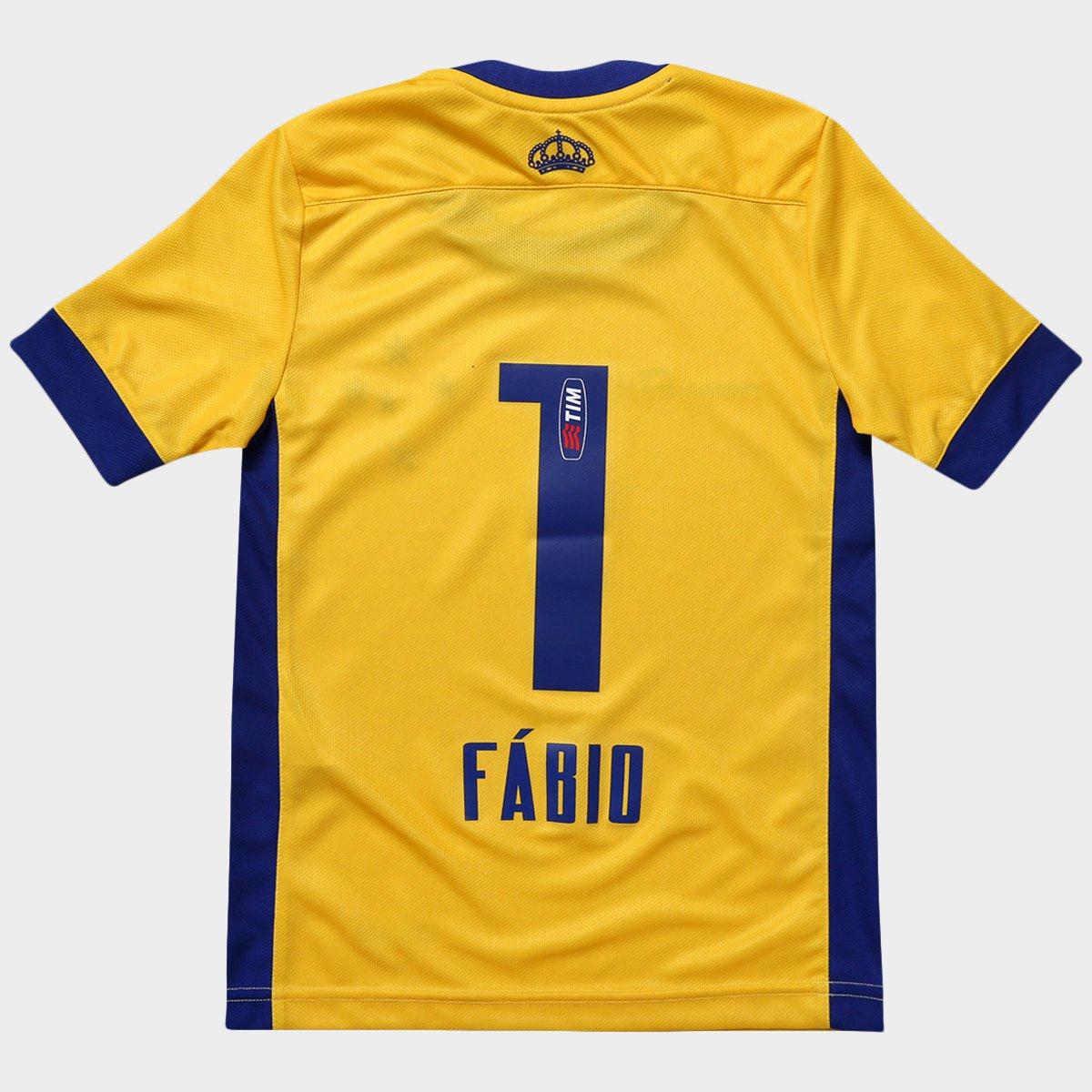 Camisa Penalty Cruzeiro Goleiro I 2015 nº 1 Juvenil - Compre Agora ... af42ff134596d
