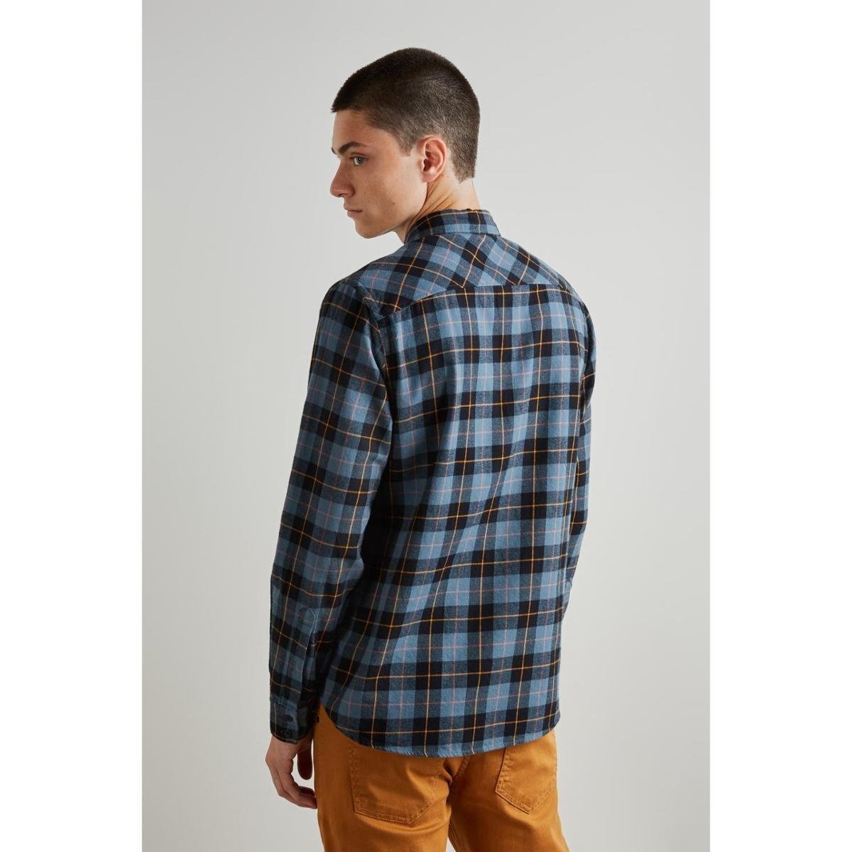 Camisa PF Folk Reserva Masculino - Azul