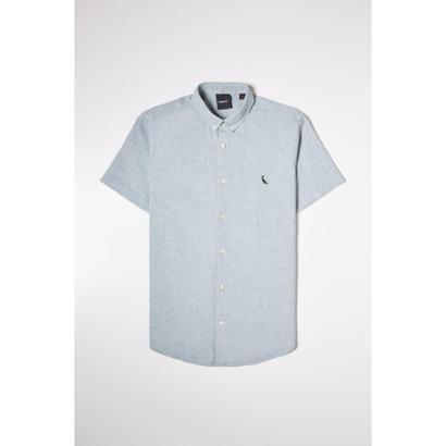 Camisa PF MC Oxford Color Reserva Masculina