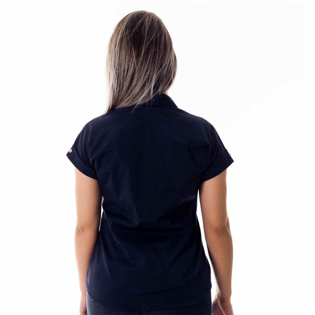 Camisa Pimenta Rosada da Brittany - Azul e Rosa - Compre Agora  5ecf0a172e17d