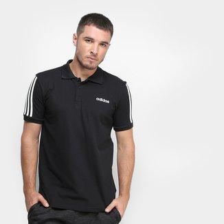 Camisa Polo Adidas Core 3Stripes Masculina