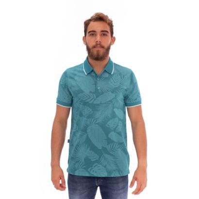Camisa Polo Aee Surf Slim El Salvador Masculina