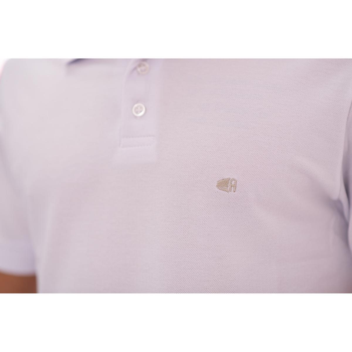 Camisa Polo Aee Surf Slim Lisa Masculina - Branco