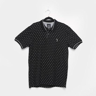 Camisa Polo Aleatory Estampada Masculina