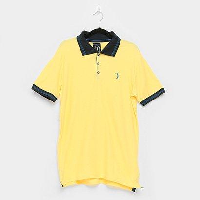 Camisa Polo Aleatory Frisos Masculina