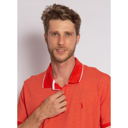 Camisa Polo Aleatory Fusion - Masculina