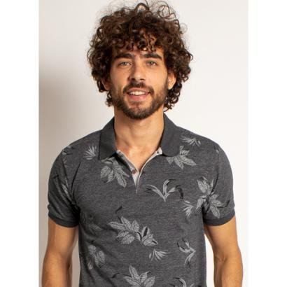 Camisa Polo Aleatory Hot Masculino