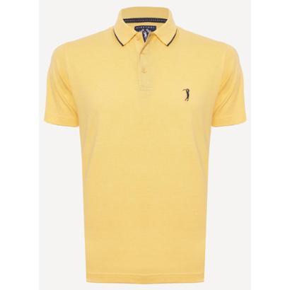 Camisa Polo Aleatory Lisa King Mescla Masculino