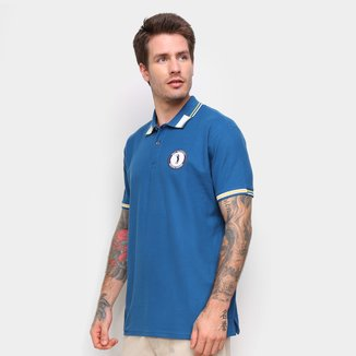 Camisa Polo Aleatory Listra Gola Masculina