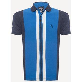 Camisa Polo Aleatory Listrada Air  Masculina