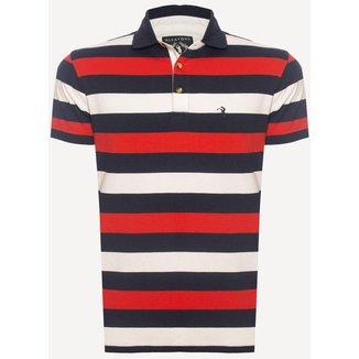 Camisa Polo Aleatory Listrada Grip  Masculina