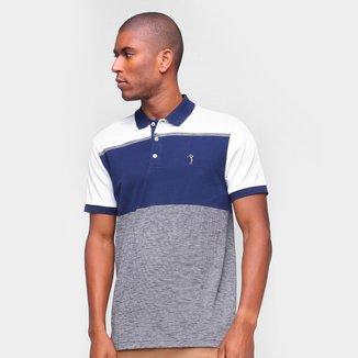 Camisa Polo Aleatory Listrada Masculina