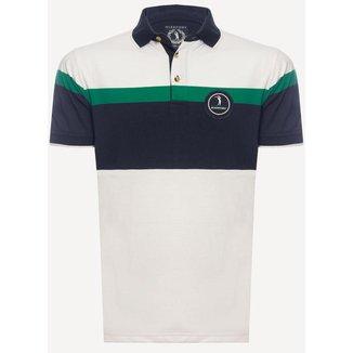 Camisa Polo Aleatory Listrada Stamina Masculina
