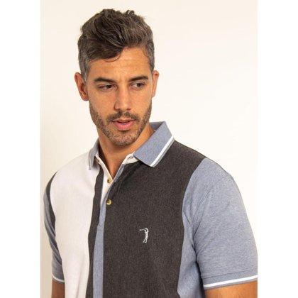 Camisa Polo Aleatory Listrada Trident Masculina