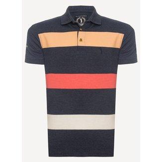 Camisa Polo Aleatory Listrada True Masculina