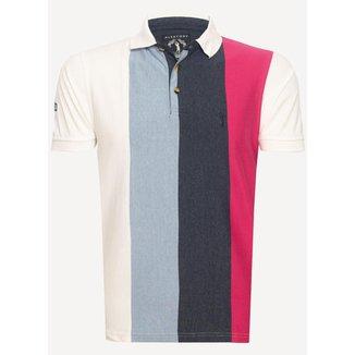 Camisa Polo Aleatory Listrada Up Masculina