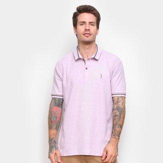 Camisa Polo Aleatory Listras Masculina