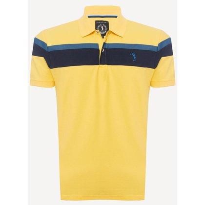 Camisa Polo Aleatory Piquet Jhonny Masculina