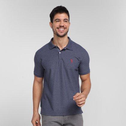 Camisa Polo Aleatory Piquet Masculina