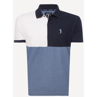 Camisa Polo Aleatory Reverse Masculina