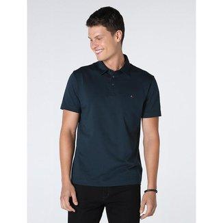 Camisa Polo Aramis Manga Curta De Algodão Pima Masculina