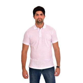 Camisa Polo Básica Lisa Luiz Figueredo Masculina