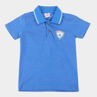 Camisa Polo Bebê Brandili Maquinetada Masculina