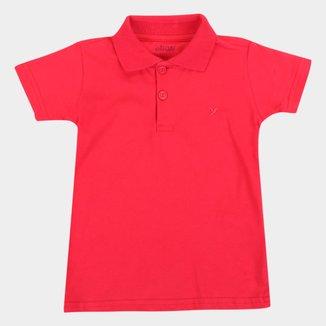 Camisa Polo Bebê Elian Básica Masculina