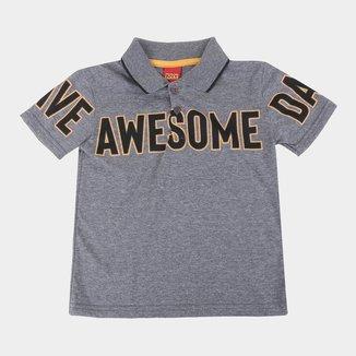 Camisa Polo Bebê Kyly Awesome Masculina