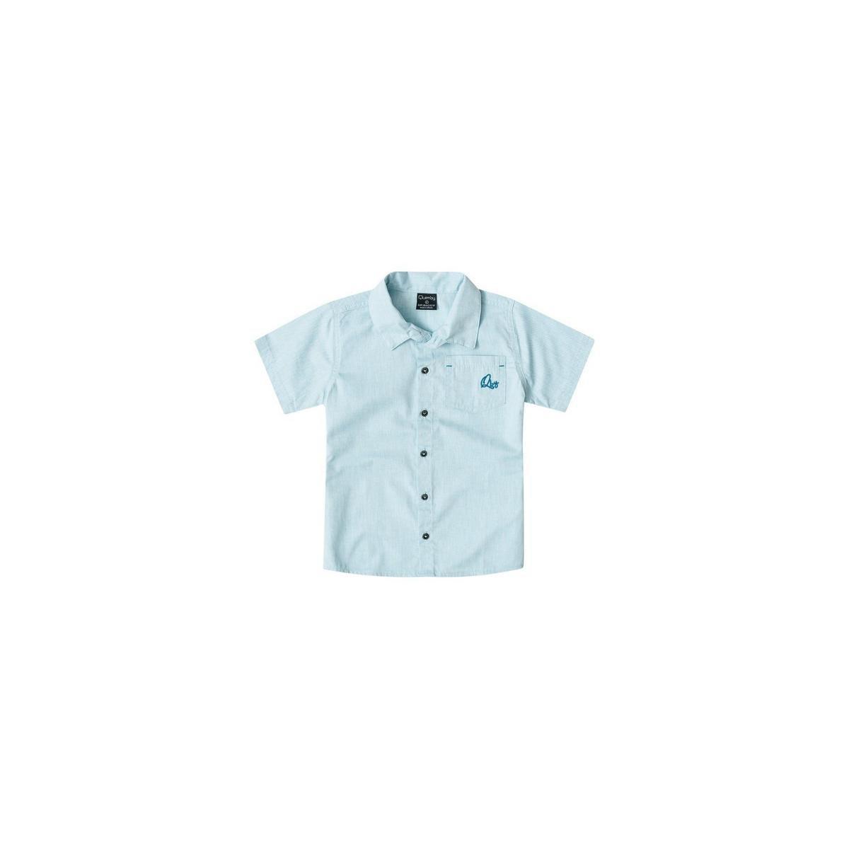 Camisa Polo Bebê Quimby Gola Masculina - Azul - Compre Agora  bcec705d9f167
