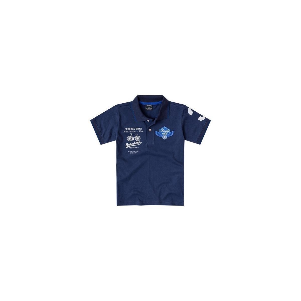Camisa Polo Bebê Quimby Masculina - Marinho - Compre Agora  795fcb4c717e3